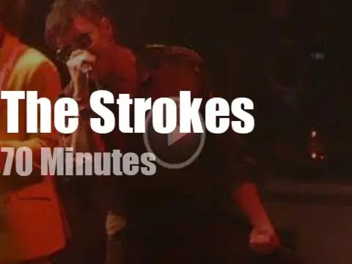 The Strokes make up for a cancelled summer festival (2019)