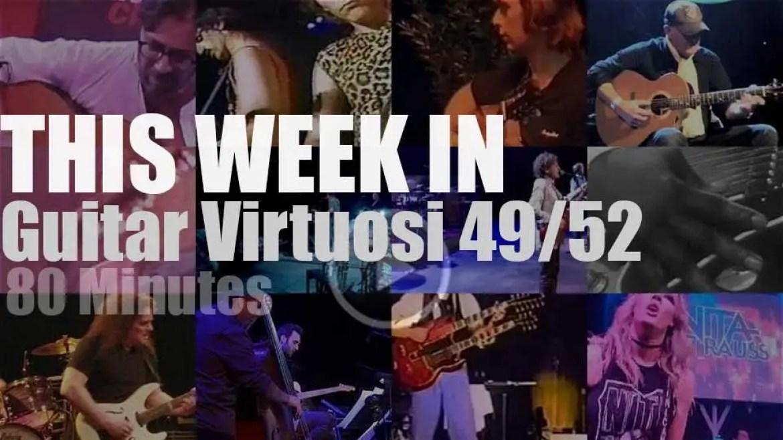 This week In Guitar Virtuosi 49/52