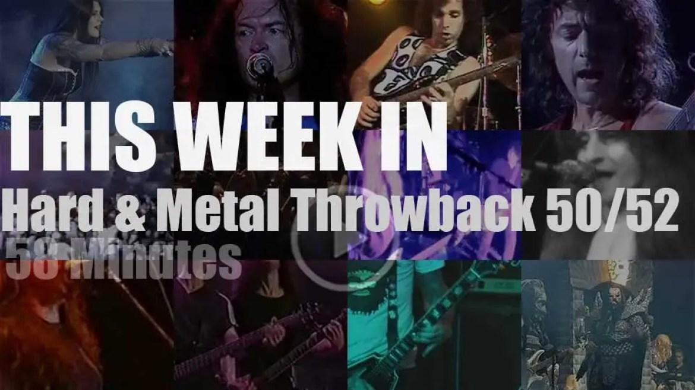 This week In  'Hard & Metal Throwback' 50/52