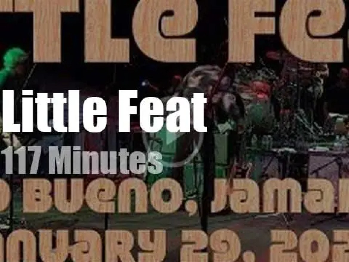 Little Feat travel to Jamaica (2020)
