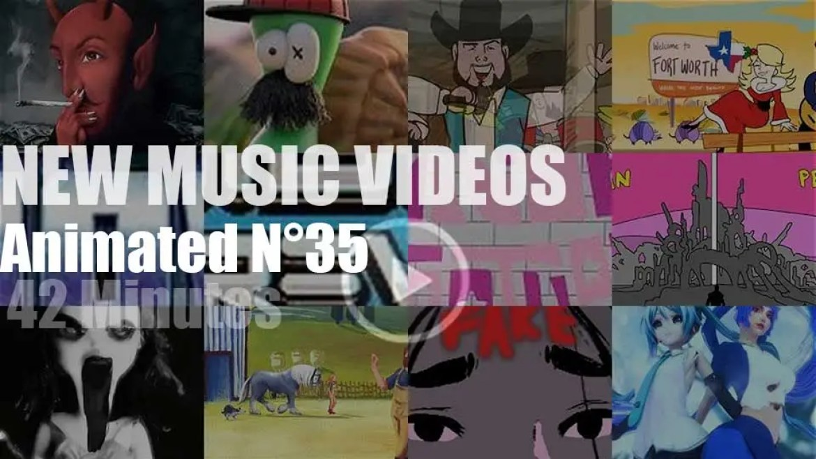 New Animated Music Videos N°35