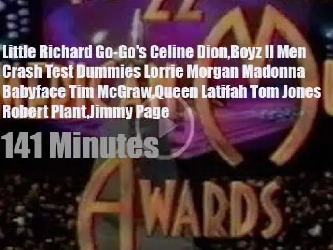 On TV today, 'The 22nd Annual American Music Awards' (1995)