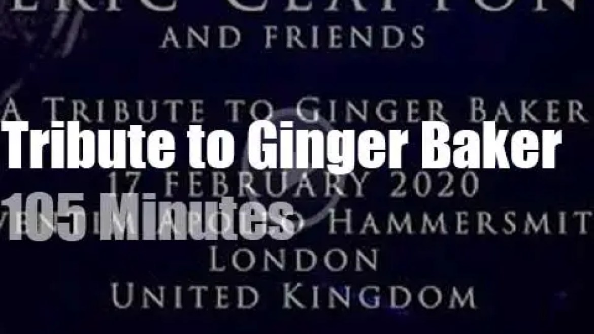 Eric, Steve, Roger Nile et al pay a 'Tribute to Ginger Baker' (2020)