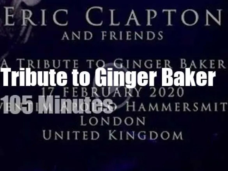 Eric, Steve, Roger Nile et al pay a 'Tribute to Ginger Baker' (2020)