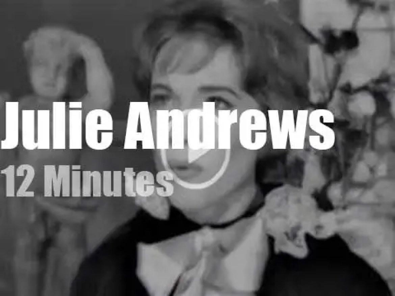 On TV today, Julie Andrews sings Sigmund Romberg (1960)