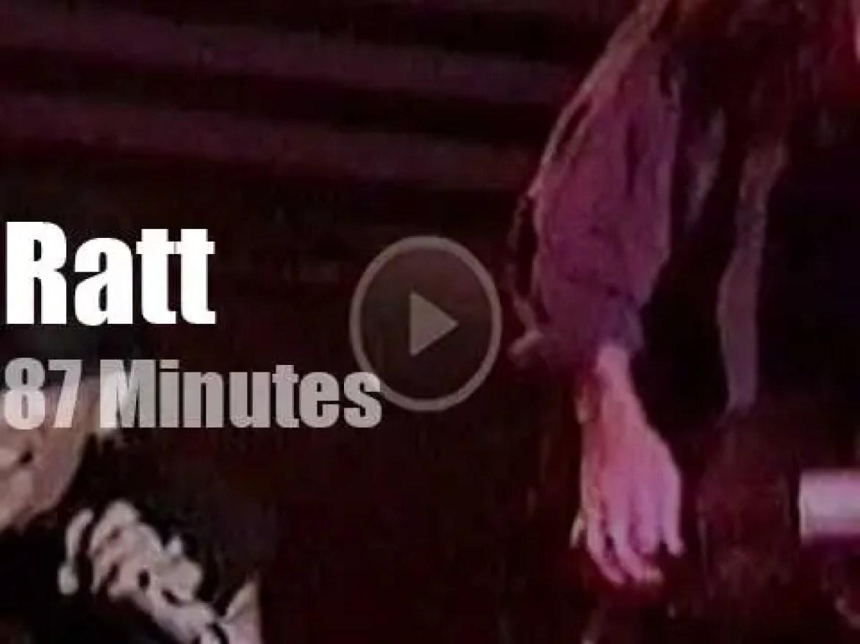 Ratt switch off their 'Detonator' in Osaka (1991)