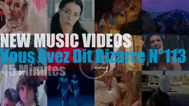 'Vous Avez Dit Bizarre'  N°113 – New Music Videos