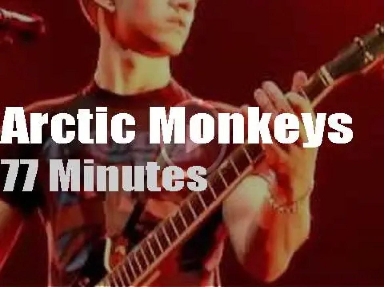 Arctic Monkeys open at MSG (2012)
