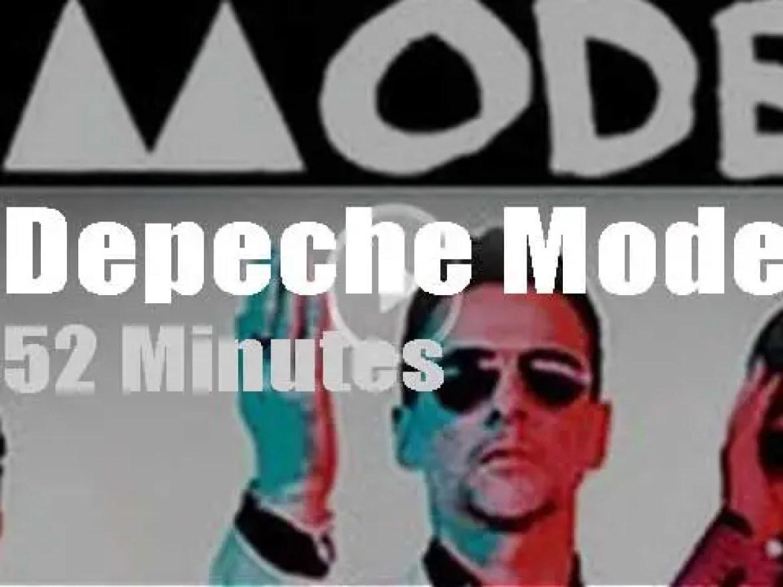 Depeche Mode launch their 'Delta Machine' in Vienna (2013)