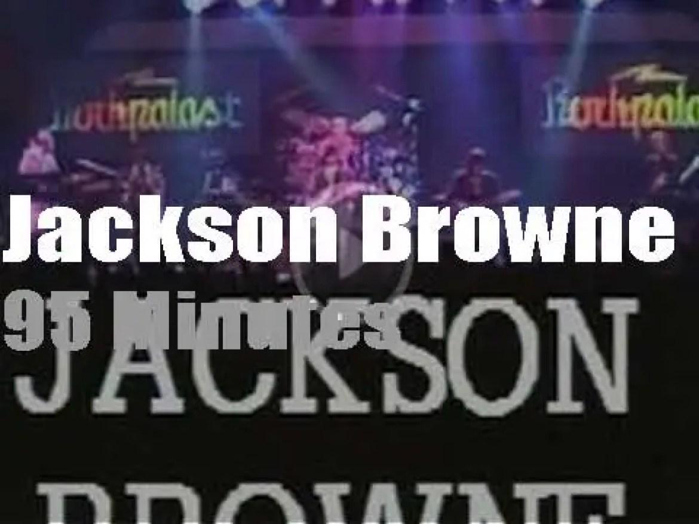 German TV tapes Jackson Browne (1986)