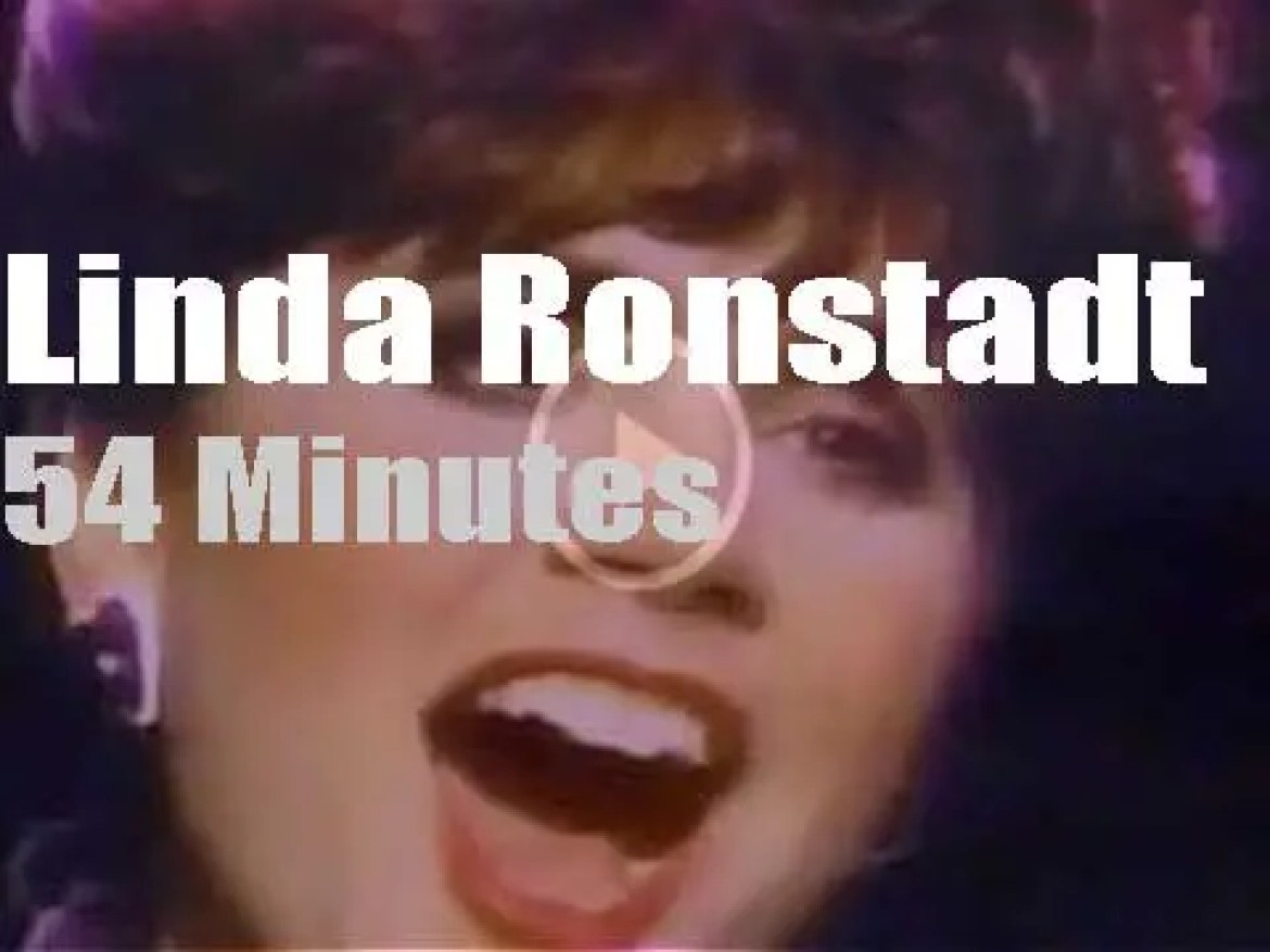 Linda Ronstadt performs 'What's New' with Nelson Riddle and Orchestra (1984)