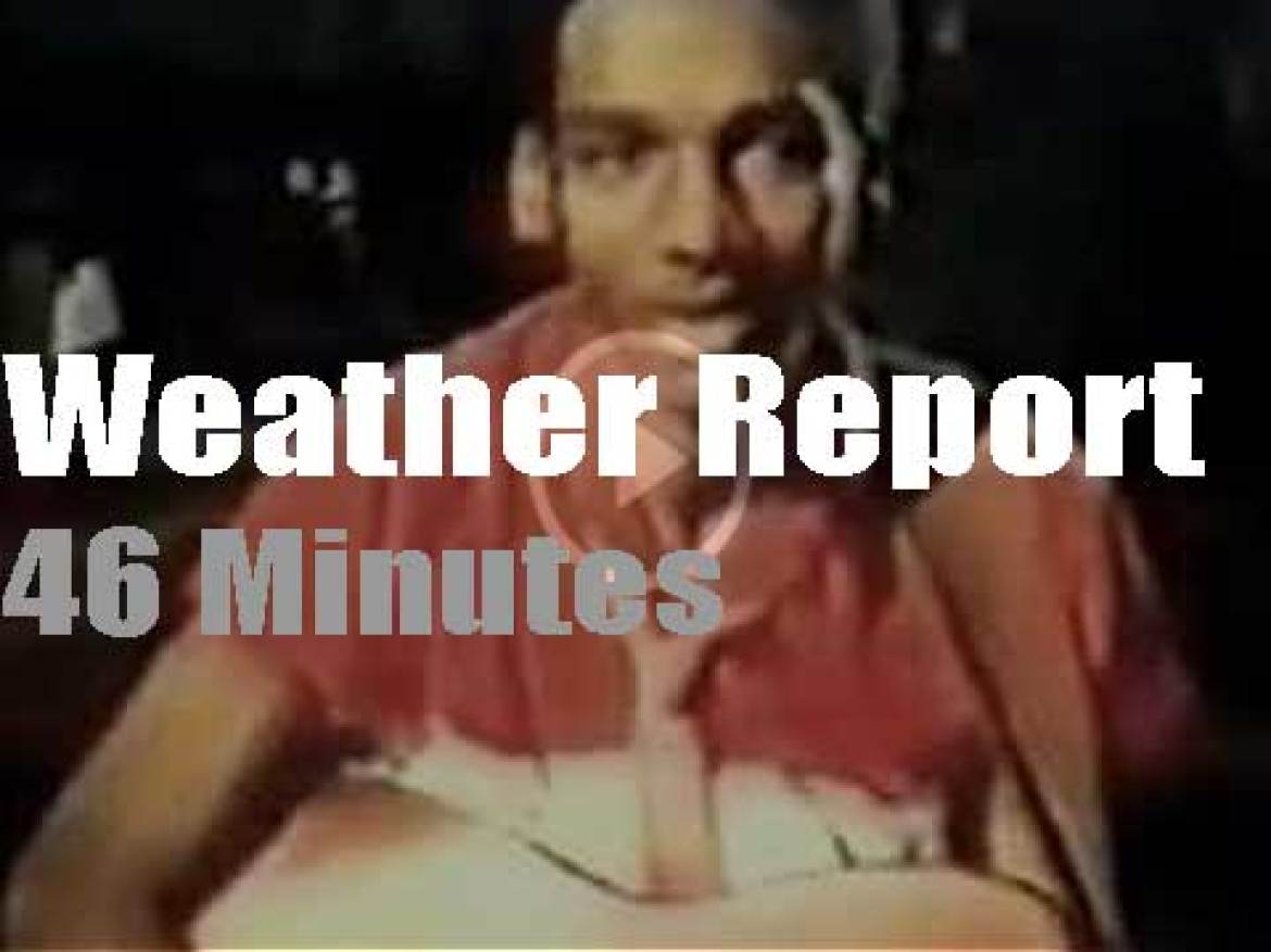 On British TV today, Weather Report on ITV (1984)