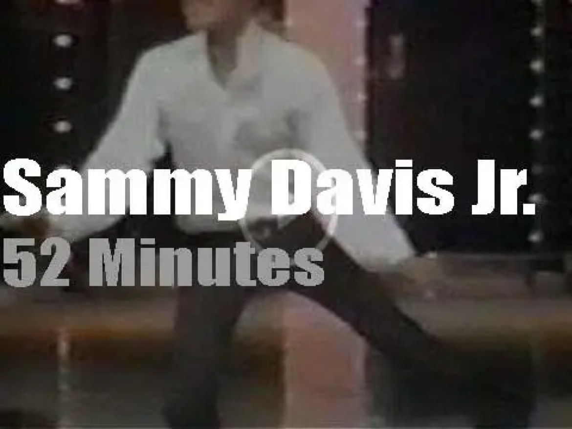 On TV today, James Brown guests with Sammy Davis Jr.  (1969)