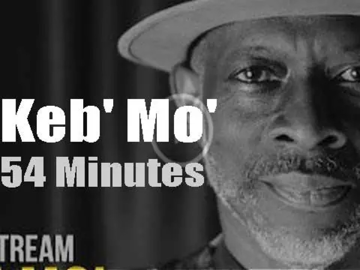 On Web TV today, Keb' Mo' 'Live From Nashville' (2020)