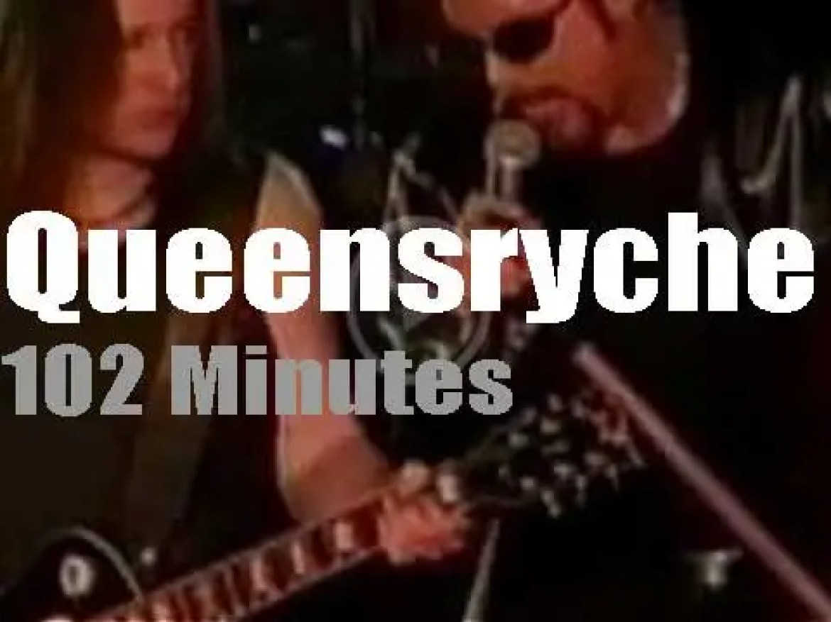 Queensryche 'Electric Shock' New Jersey (2000)