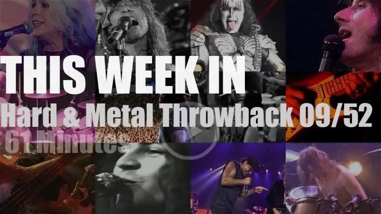 This week In  'Hard & Metal Throwback'  09/52