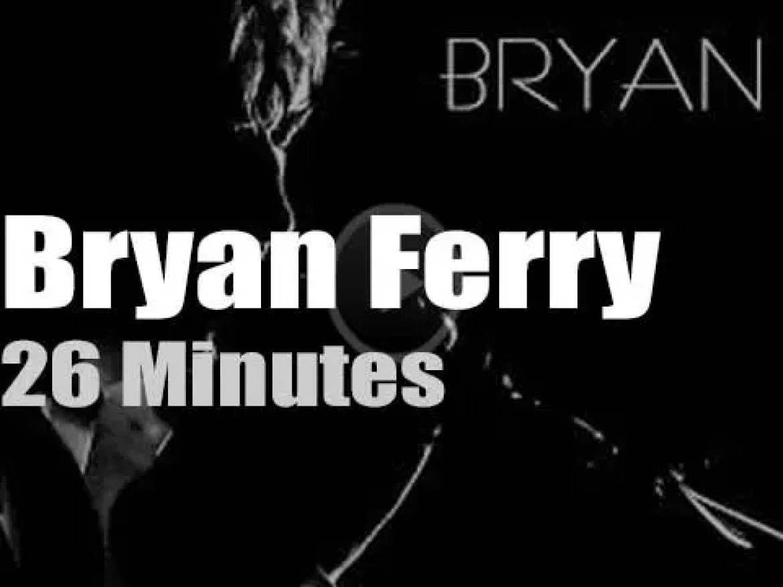 Bryan Ferry comes to Glasgow (2018)