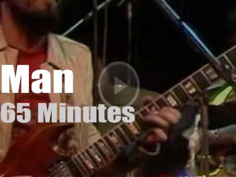 German TV program 'Rockpalast' tapes Man (1975)