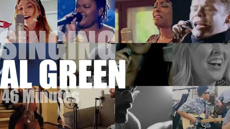 Singing  Al Green