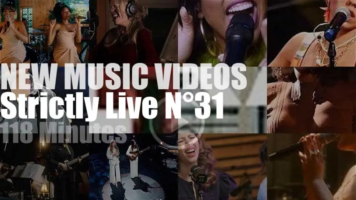 'Strictly Live'  New Music Videos N°31