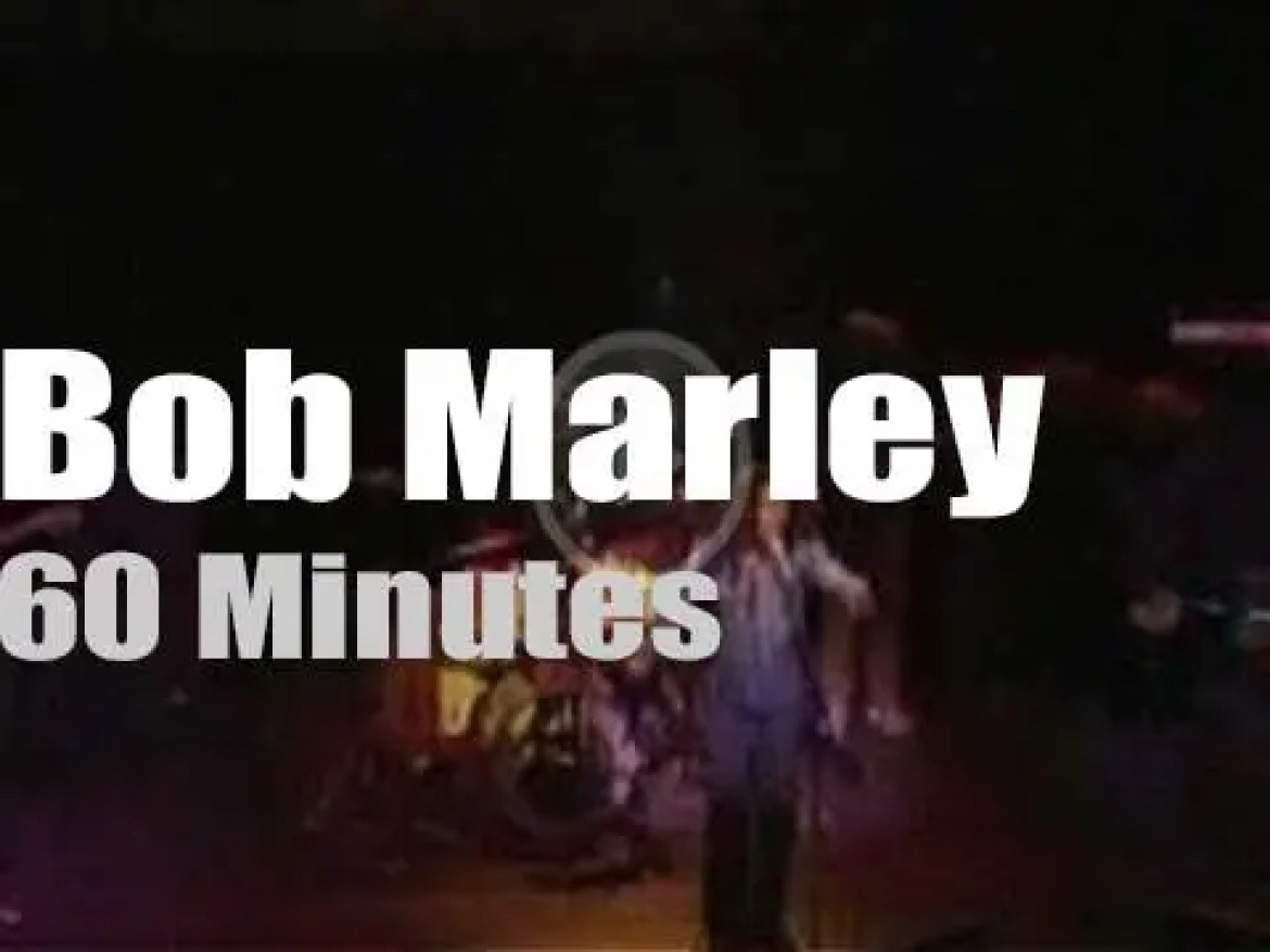Bob Marley bring The Wailers and 'Exodus' to London (1977)