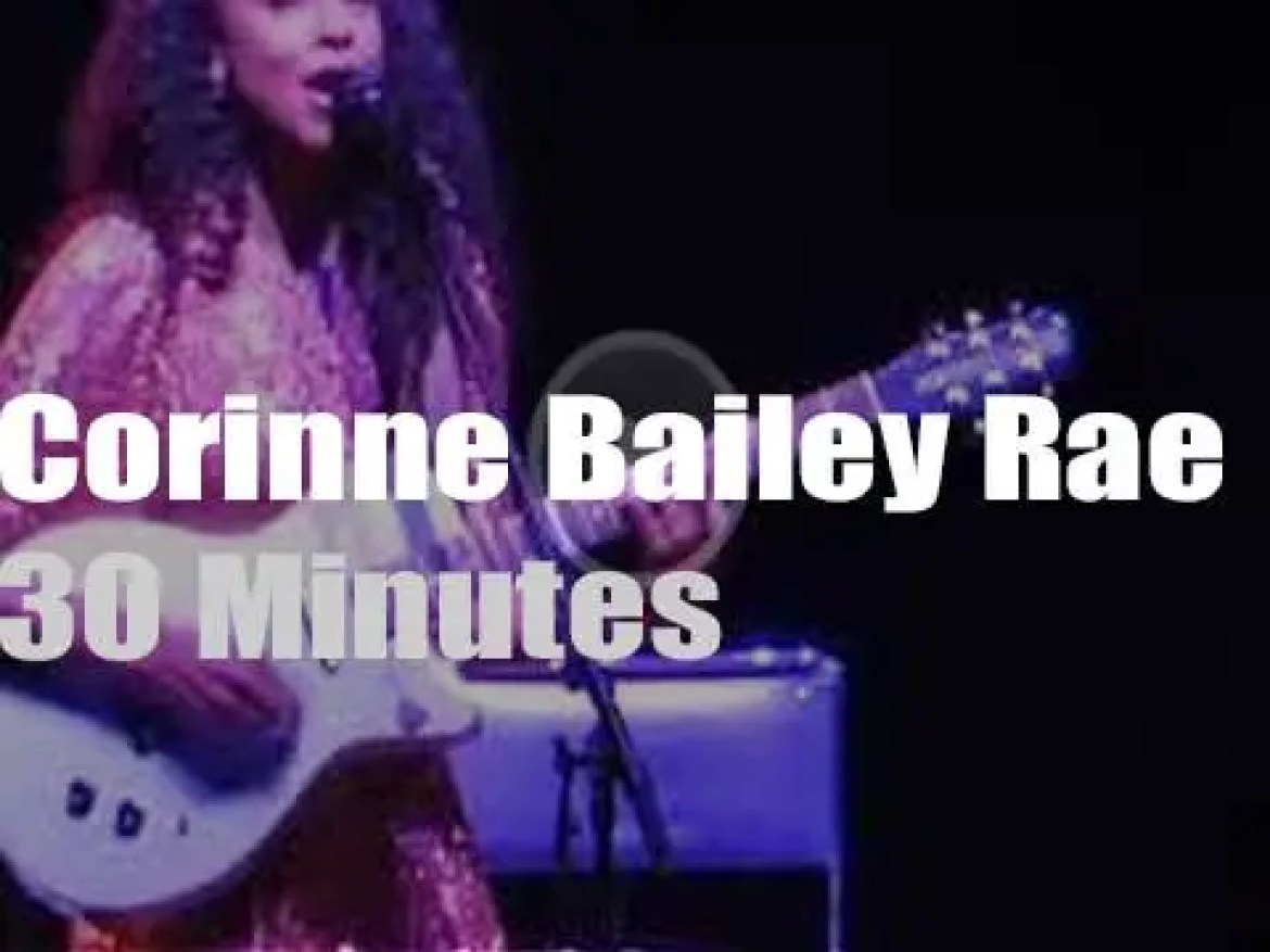 Corinne Bailey Rae opens for Lenny in London (2019)