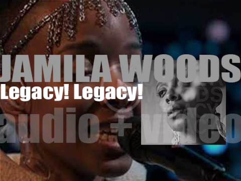 Jagjaguwar publish Jamila Woods second studio album : 'Legacy! Legacy!' (2019)
