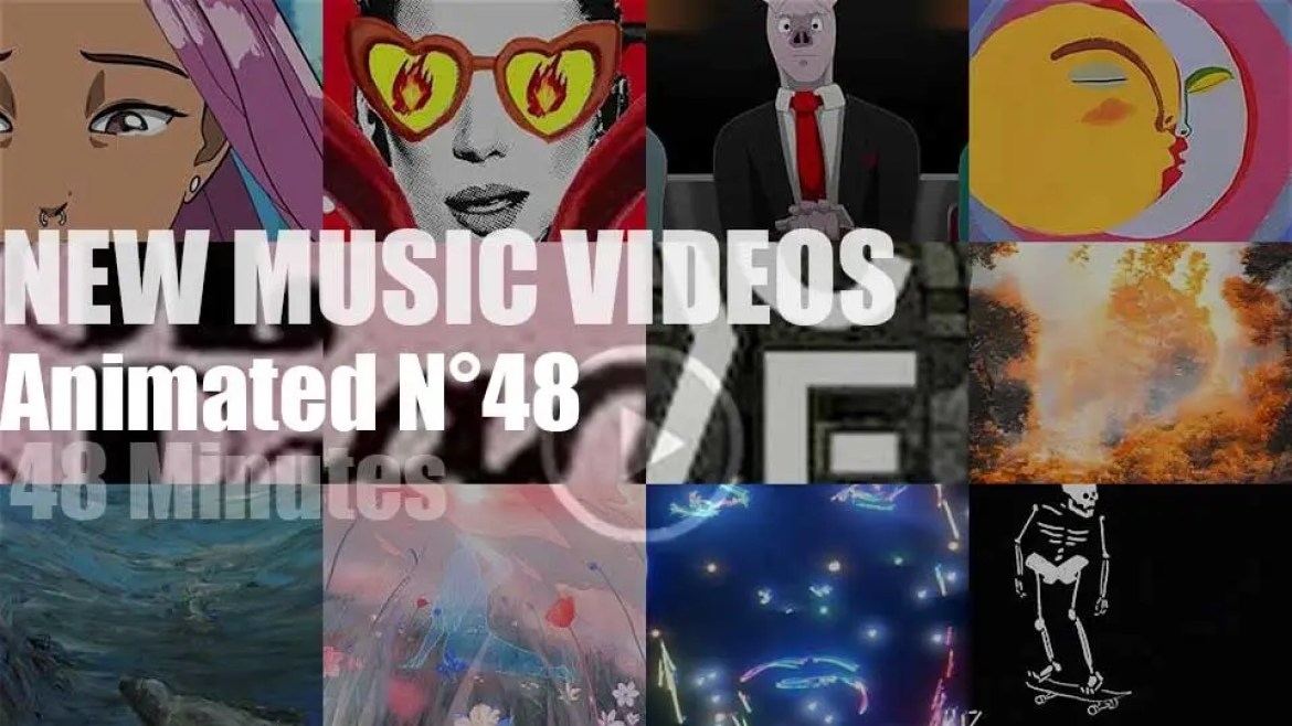 New Animated Music Videos N°48