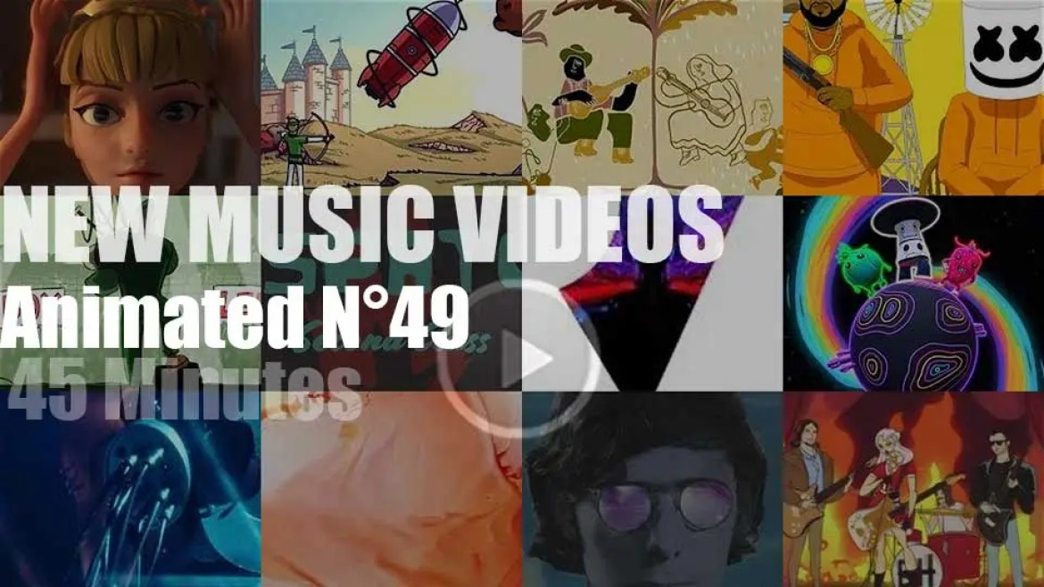 New Animated Music Videos N°49