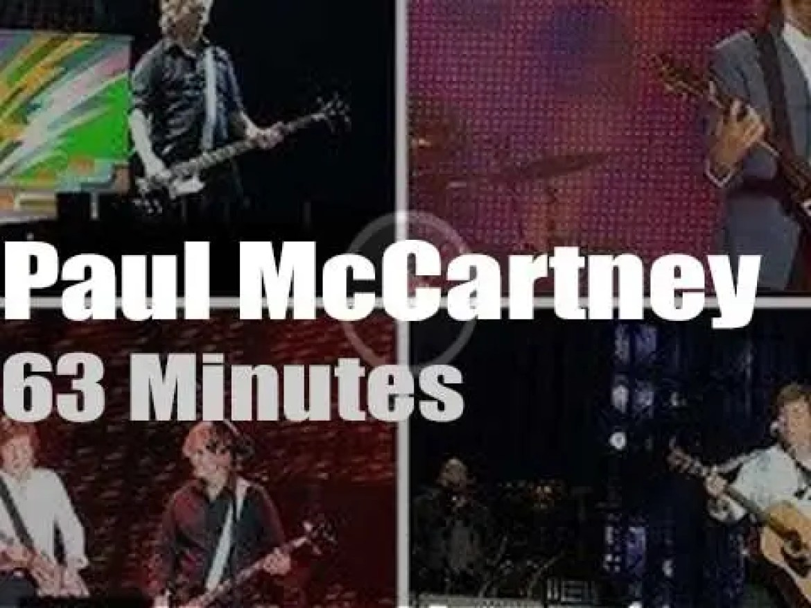 Paul McCartney is 'Out There' in Birmingham (2015)