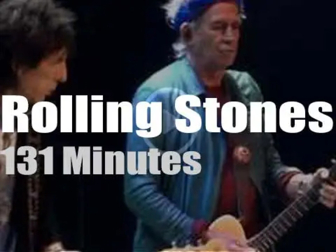 The Rolling Stones take '50 & Counting' to Chicago  (2013)