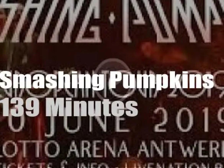 The Smashing Pumpkins travel to Belgium (2019)