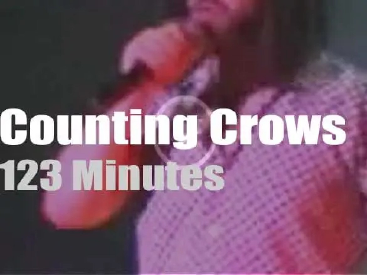 Counting Crows visit London (2000)