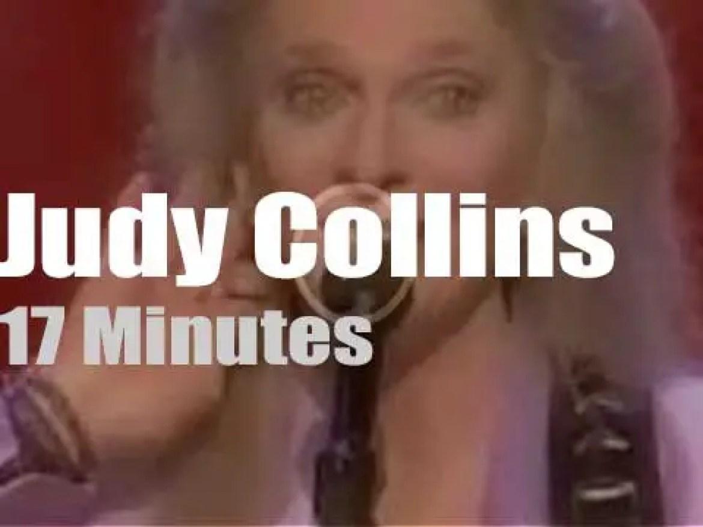 Judy Collins sings in Vienna, Virginia (2000)