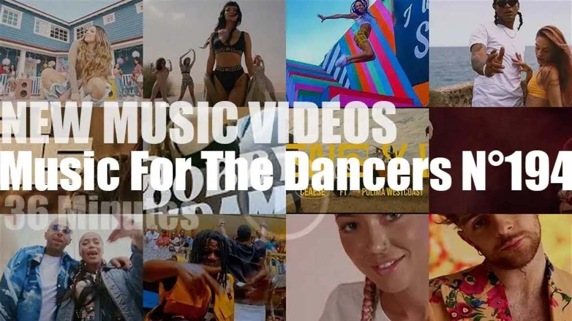 'Music For The Dancers' N°194 – New Music Videos