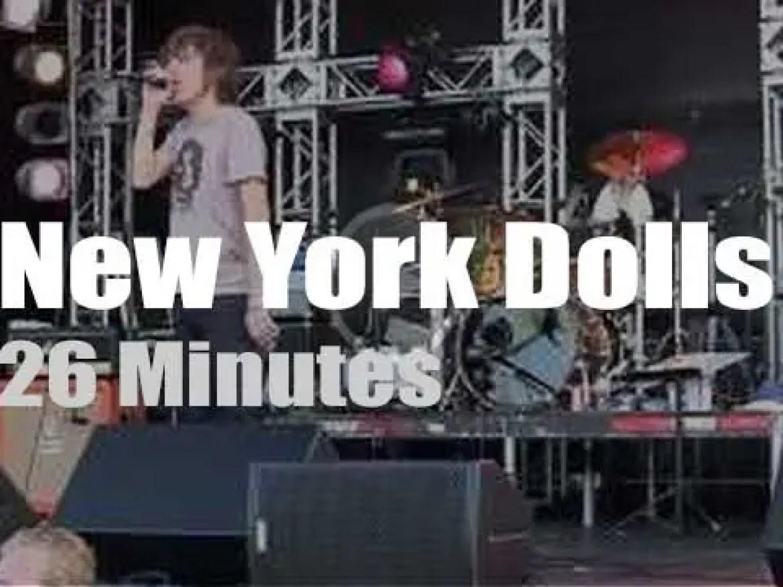 New York Dolls rock Ontario (2010)