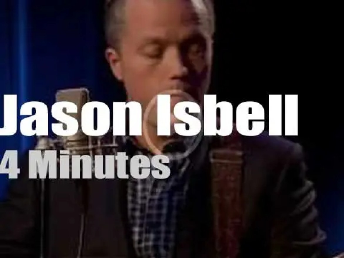 On TV today, Jason Isbell with Charlie Rose (2017)