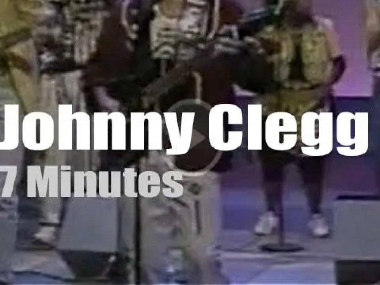 On TV today, Johnny Clegg, Savuka and David Letterman (1990)