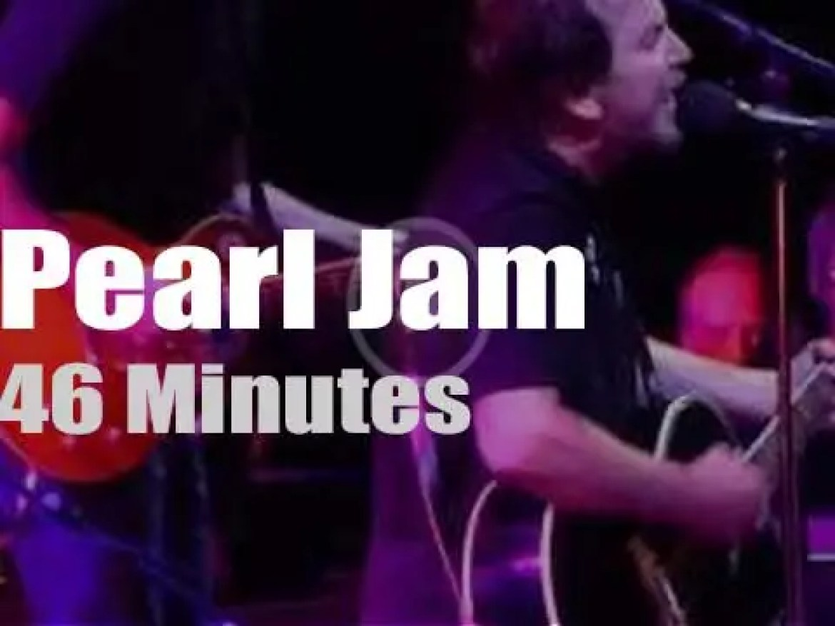 Pearl Jam come to Amsterdam (2014)