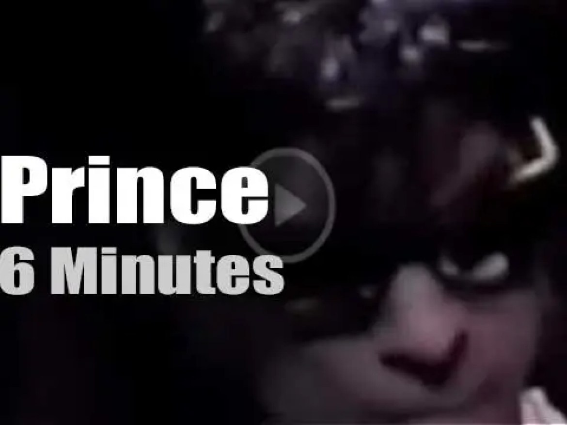 Prince plays at home (1995)