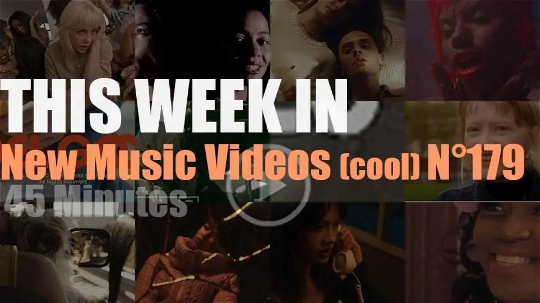 This week In New Music Videos (cool) N°179