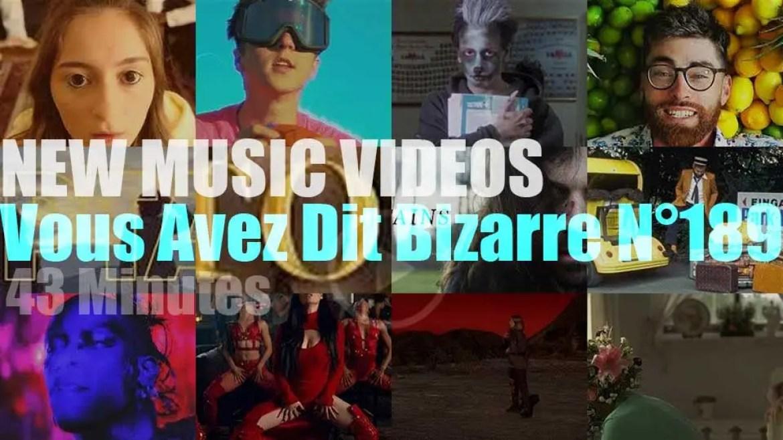 'Vous Avez Dit Bizarre'  N°189 – New Music Videos