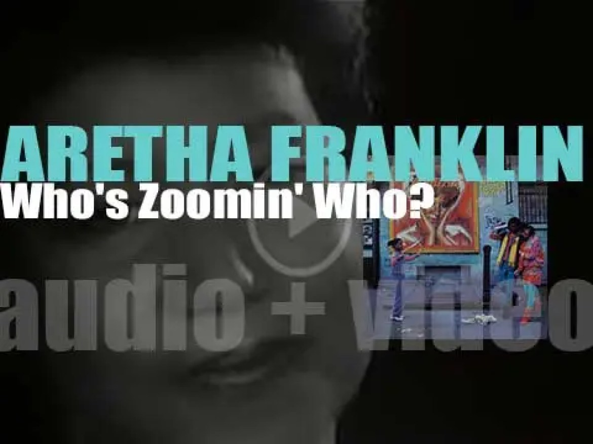 Arista publish 'Whos Zoomin Who?', Aretha Franklin's  thirtieth album featuring 'Freeway of Love' (1985)