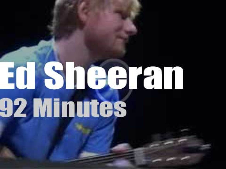 Ed Sheeran sings for a cause (2019)
