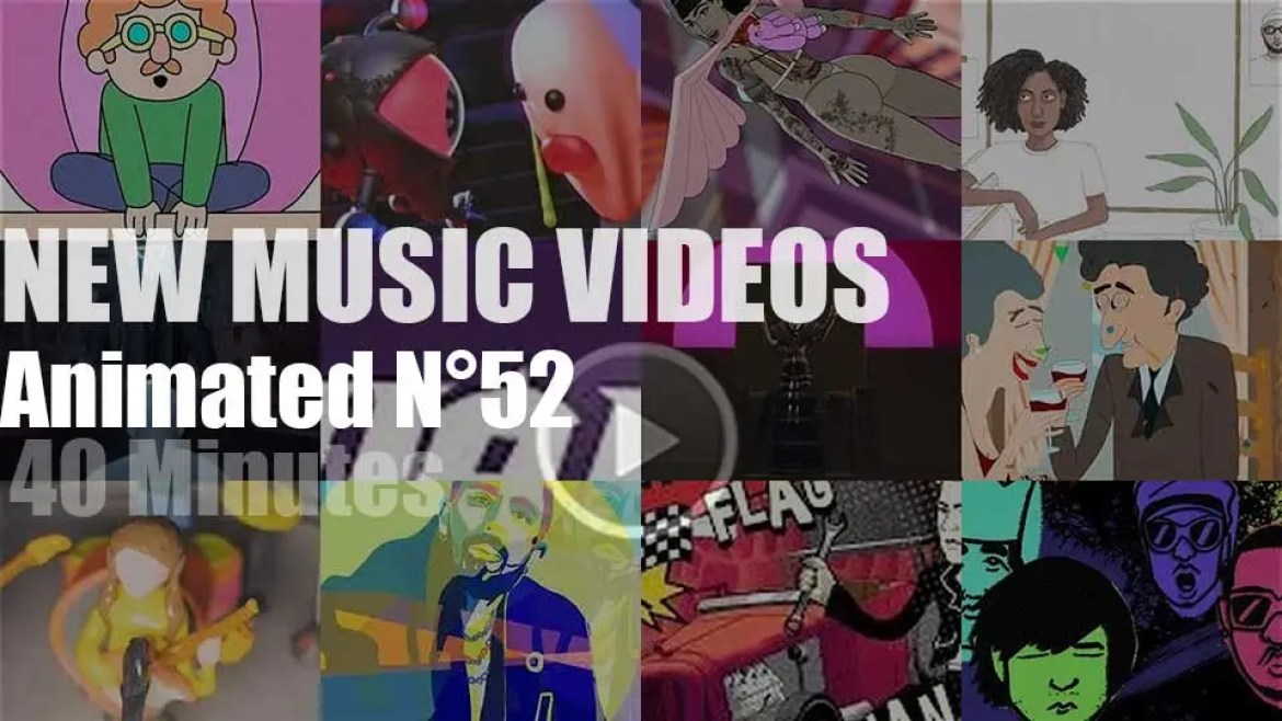 New Animated Music Videos N°52