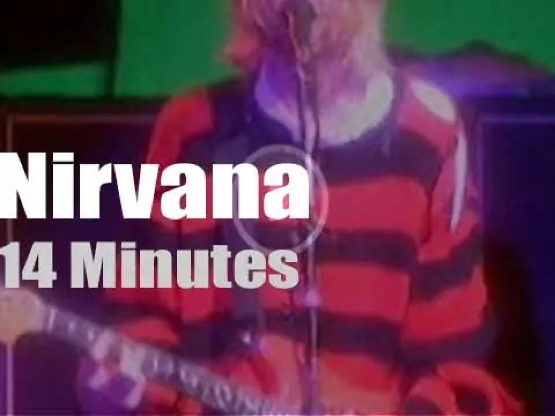 Nirvana rock the 'New Music Seminar' (1993)