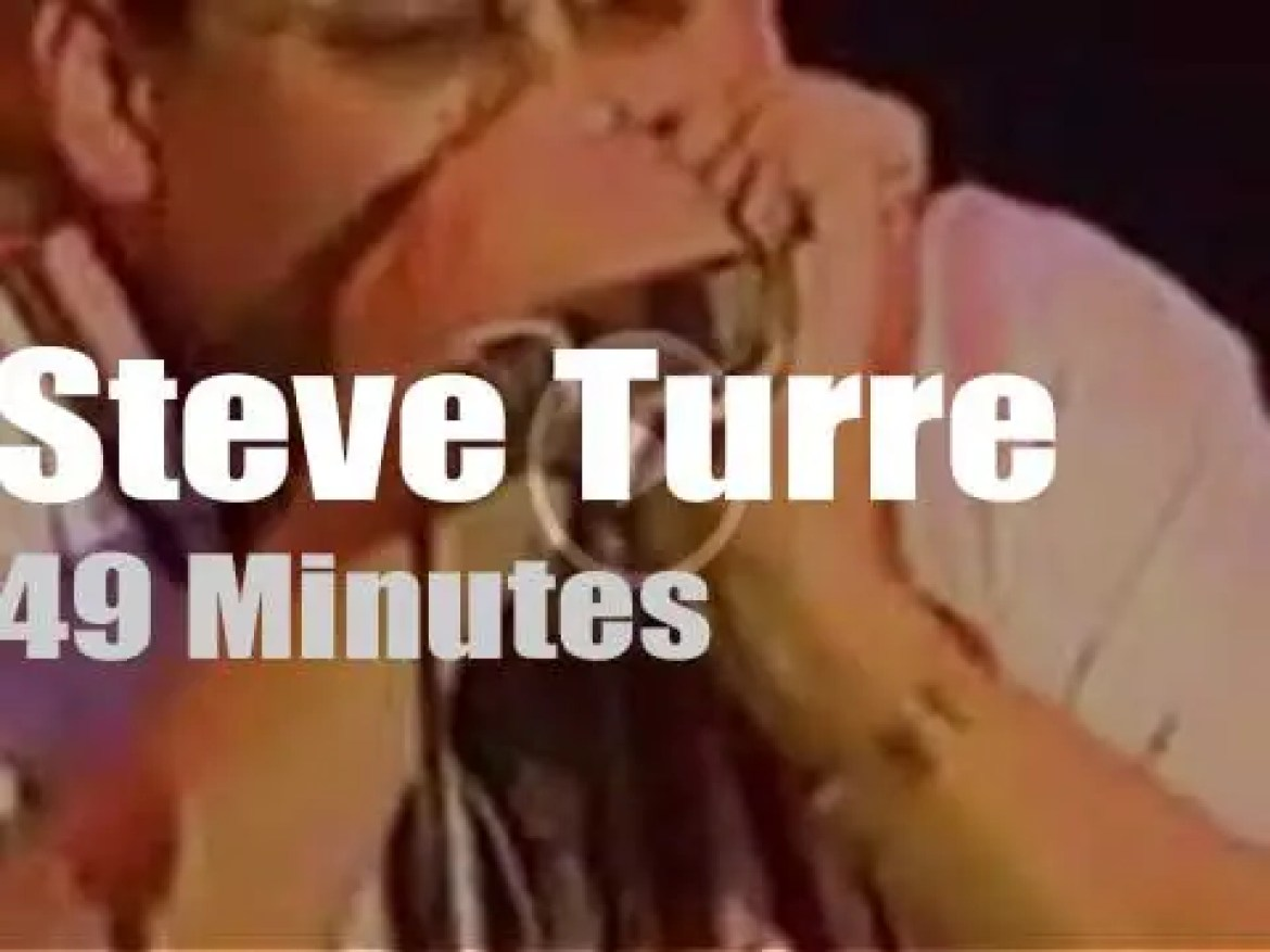 Steve Turre brings his Sanctified Shells to 'Jazz a Vienne' (1997)