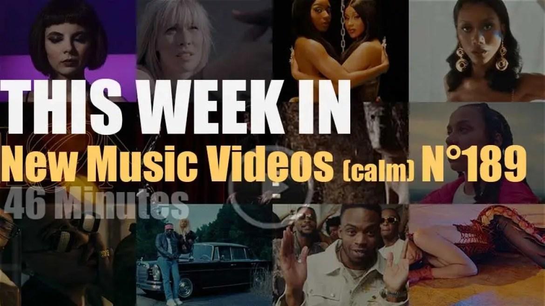 This week In New Music Videos (calm) N°189