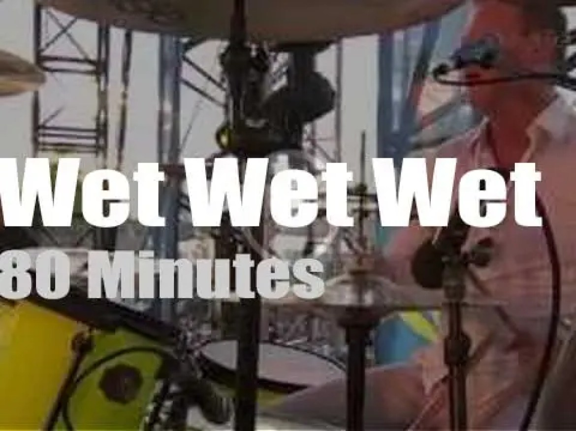 Wet Wet Wet are at the Quay in Glasgow (2014)