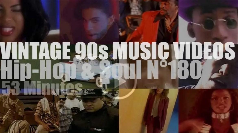 Hip-Hop & Soul N°180 – Vintage 90s Music Videos